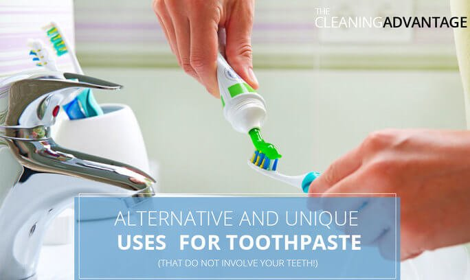 Alternative and Unique Uses for Toothpaste (That Do Not Involve Your Teeth!)