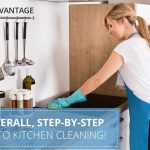 The Overall, Step-by-Step Guide to Kitchen Cleaning!