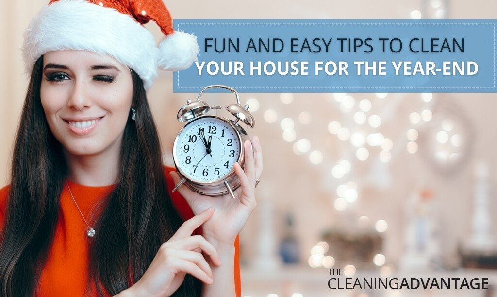 Tips To Clean Your House For the Year-End