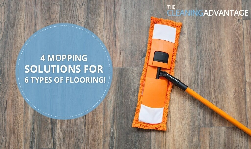 4 Mopping Solutions For 6 Types Of Flooring The